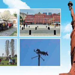 Parque Avellaneda, Escalinata Puente, Parque de los Niños, Caballito y Barrancas de Belgrano, cinco lugares para disfrutar respetando el distanciaminento social.