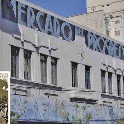 Fachada del histórico Mercado del Progreso inaugurado en 1889 y una pulpería de 1821 (Caballito).