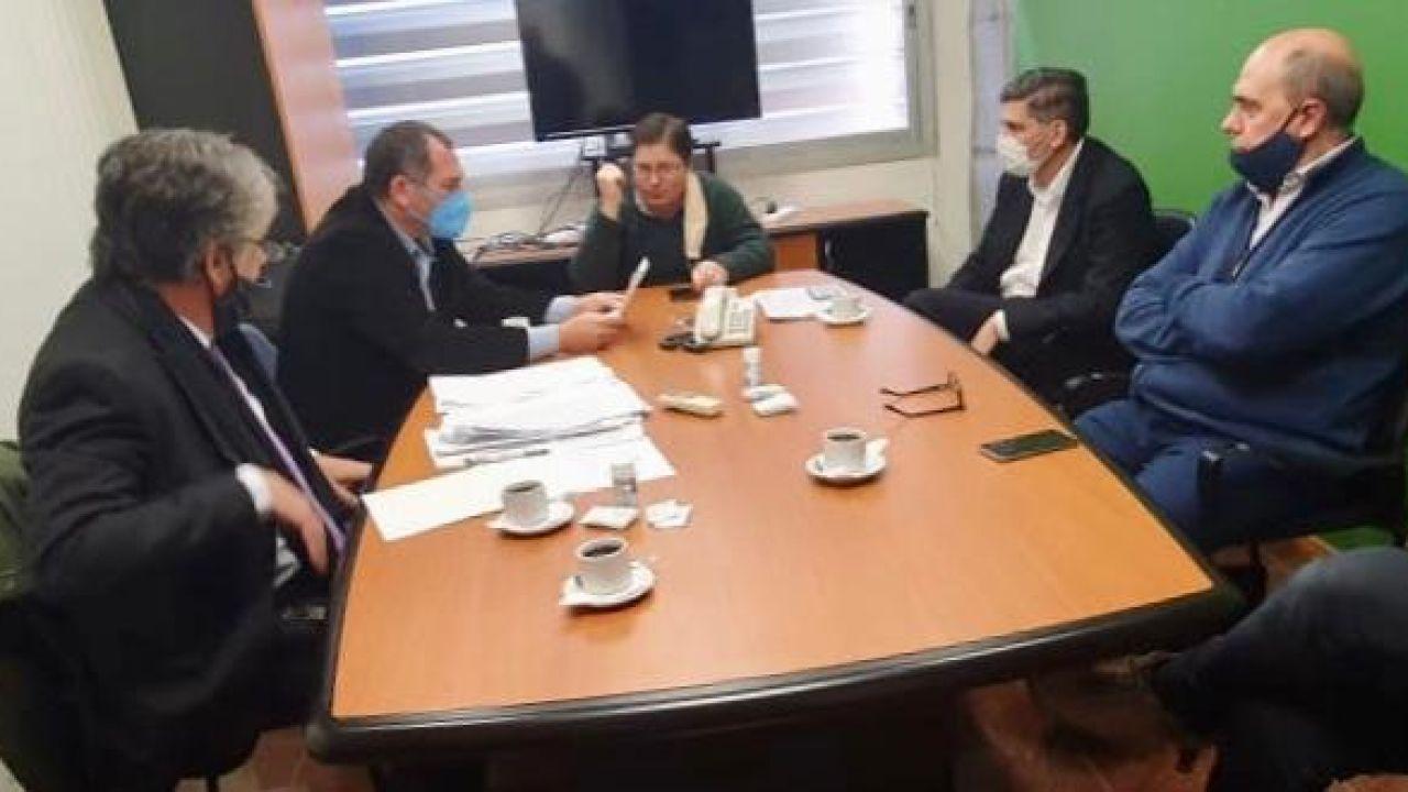 Interventor de Vicentin en las oficinas de la empresa | Foto:Cedoc