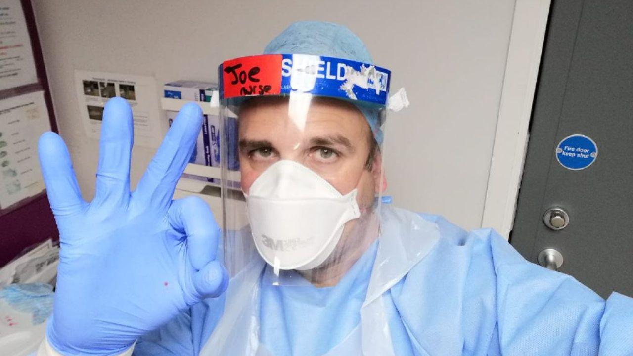Joan Pons, enfermero del hospital de Sheffield | Foto:CEDOC