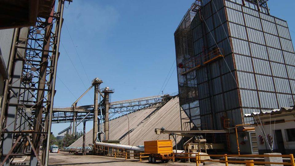 instalaciones de la aceitera Vicentin