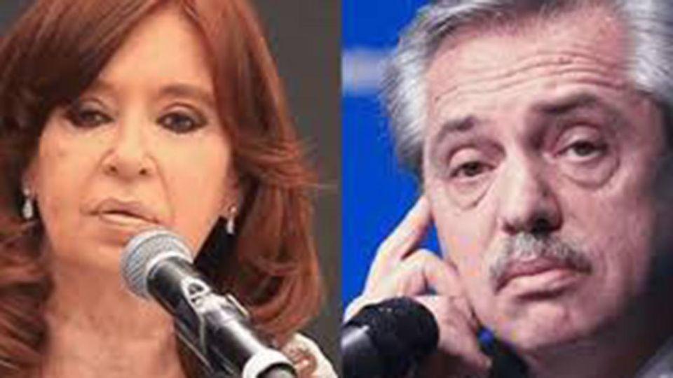 Alberto Fernandez y Cristina Kirchner. 20200611