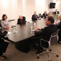 Cumbre entre Alberto Fernández y directivos de Vicentin | Foto:Cedoc