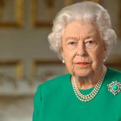 La reina de animó al Zoom.