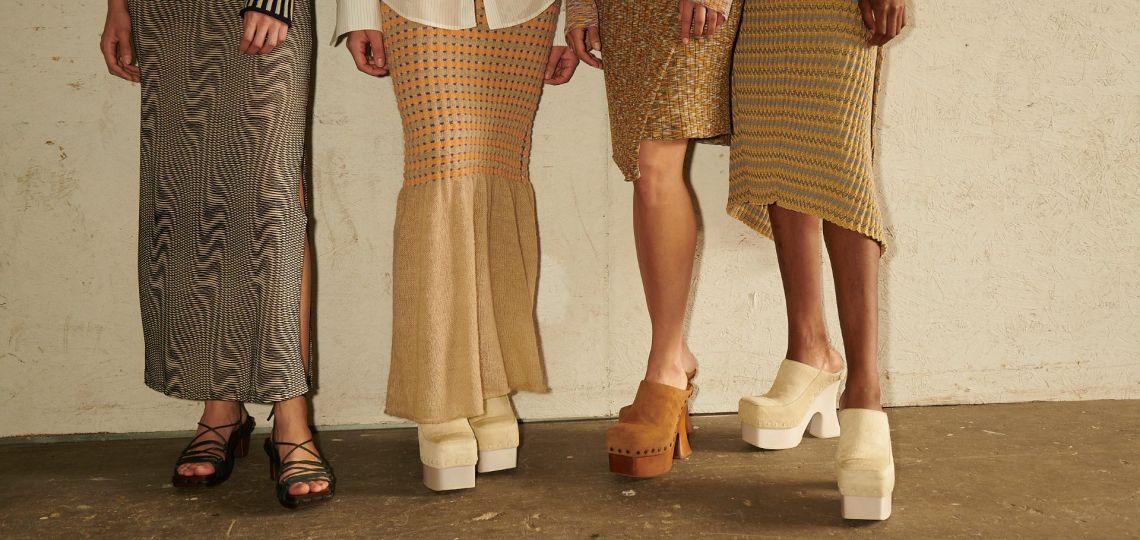 Moda: dos marcas se fusionan para recrear las daddy sandals