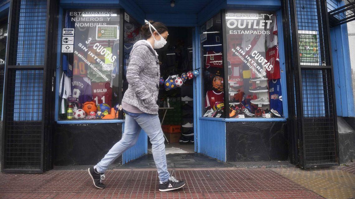 More than 20,000 shops in the capital re-opened this week.