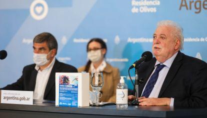 Ginés González García, ministro de Salud.