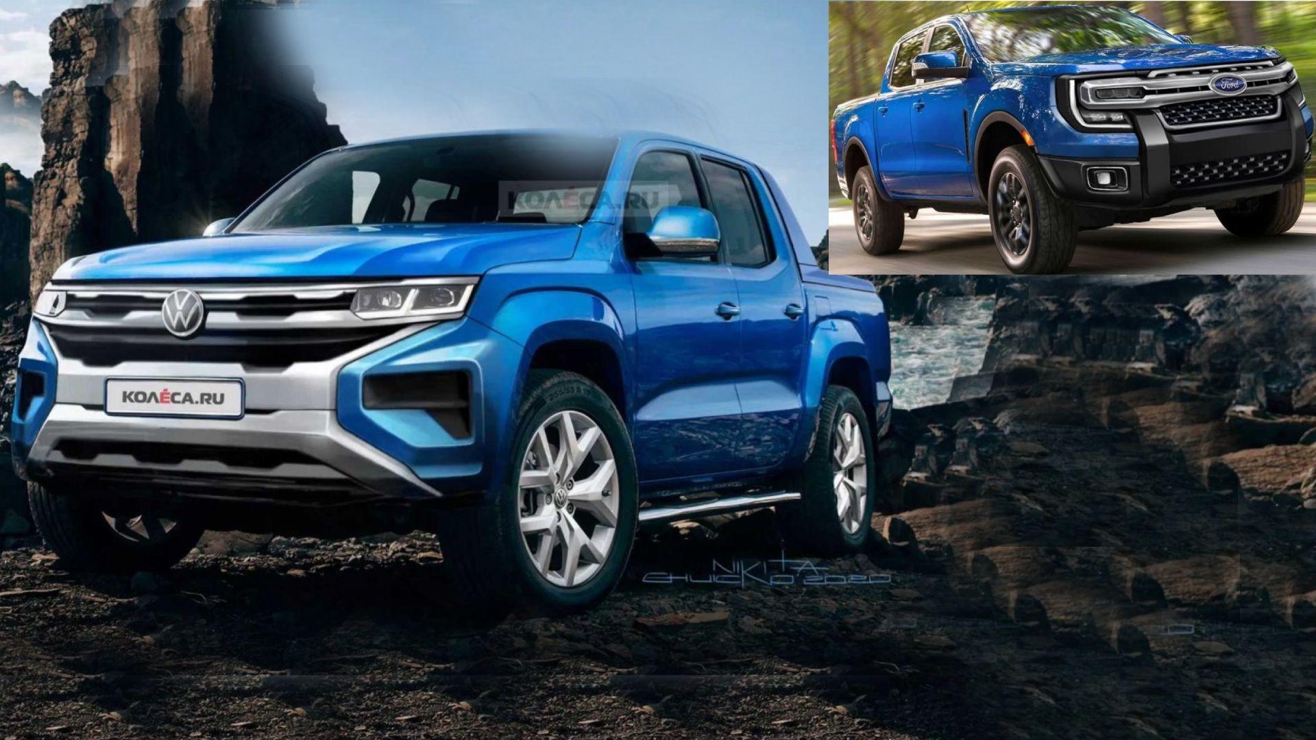 La nueva Volkswagen Amarok tendrá motores de la próxima Ford Ranger