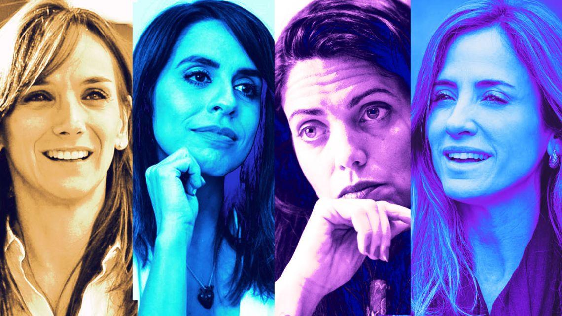 Malena Galmarini, Victoria Donda, Luana Volnovich, Victoria Tolosa Paz.