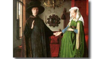 OBRA MAESTRA. El cuadro de Van Eyck también abrió interrogantes.