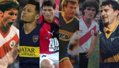 Los grandes traidores de la historia del fútbol argentino.