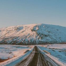 La escénica ruta Ring Road, en Islandia.