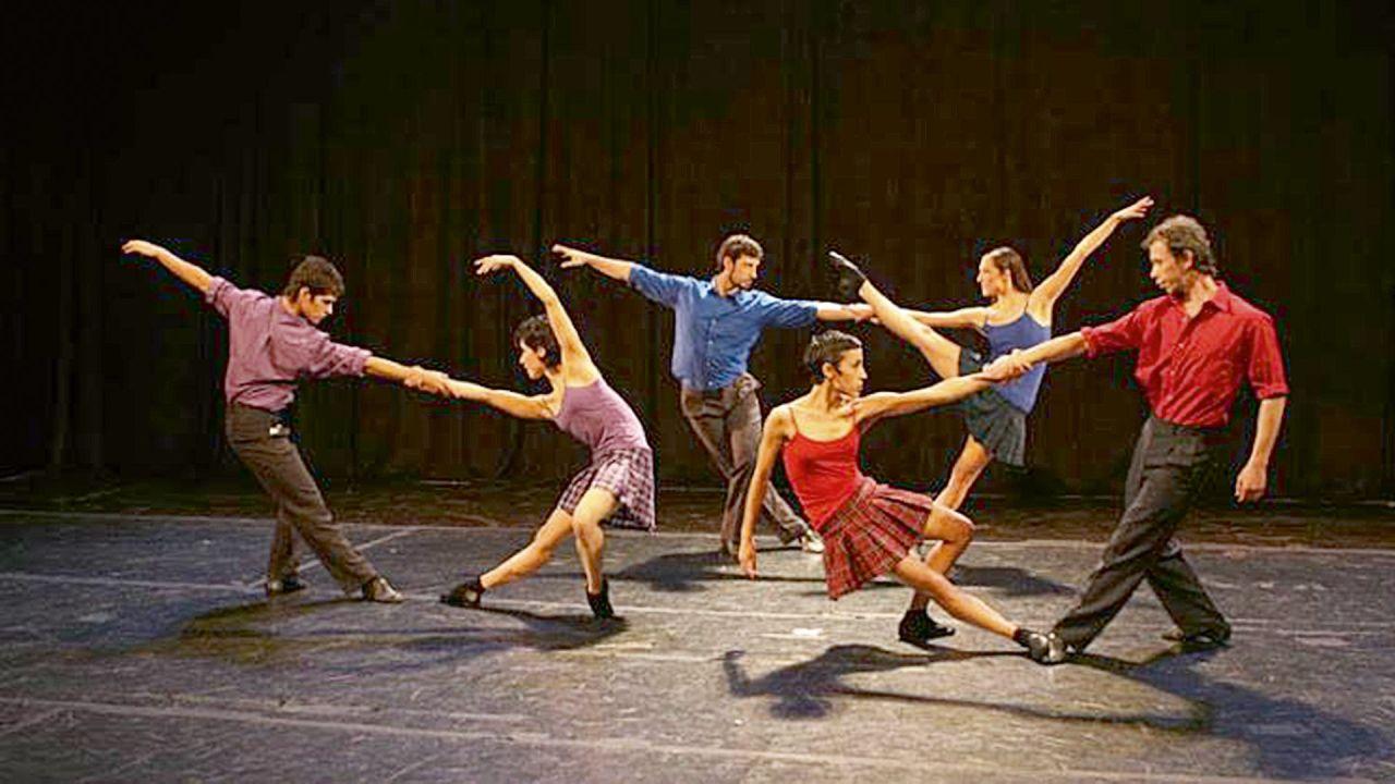 Compañía Nacional de Danza contemporánea. | Foto:cedoc
