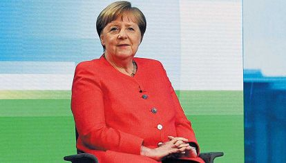Angela. Merkel enfrentó el desafío con un equipo.