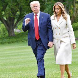 Donald Trump y su esposa | Foto:Cedoc.