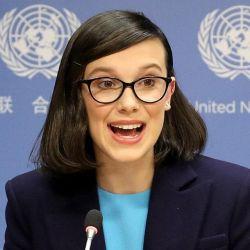 La actriz hace años que colabora con la Onu y Unicef.