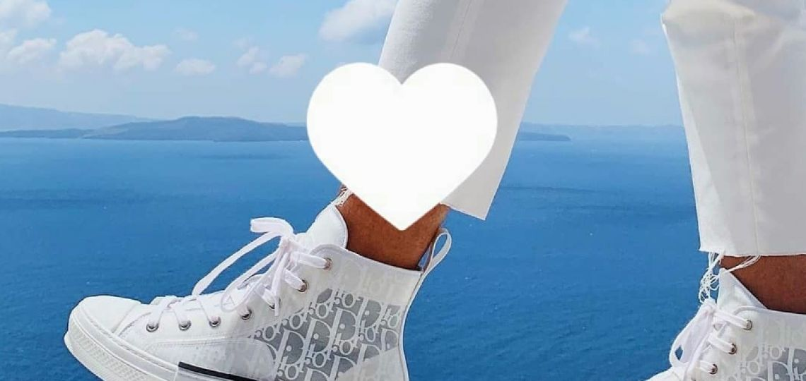 Las icónicas zapatillas Dior que son furor en Instagram (y te van a obsesionar)