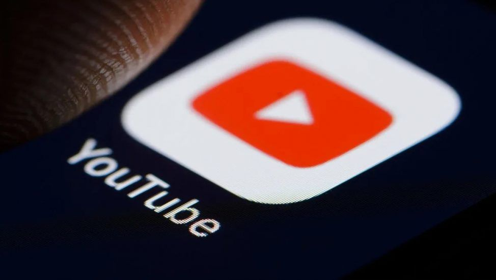 La aplicación de YouTube.