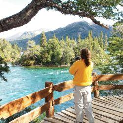 El pasado fin de semana, los primeros visitantes de la zona pudieron disfrutar del PN Los Alerces y de sus hermosas vistas.