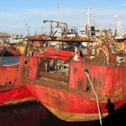 Mar del Plata busca limpiar el puerto de barcos viejos y ampliar el parque subacuático que ya tiene dos pecios: el Cristo Rey y el Kronomether.