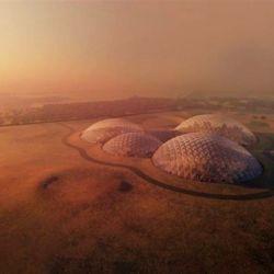 La base marciana que Dubái creará en el desierto también tendrá fines turísticos.