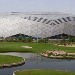 El estadio de la educación en Qatar. Será sede del Mundial 2022.