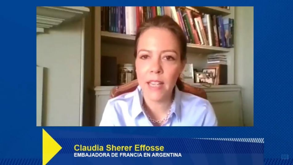 Claudia Sherer Effosse Embajadora Francia Club Europeo 20200616