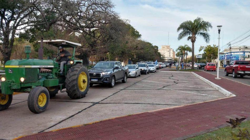 Movilización contra la intervención de Vicentin 20200616