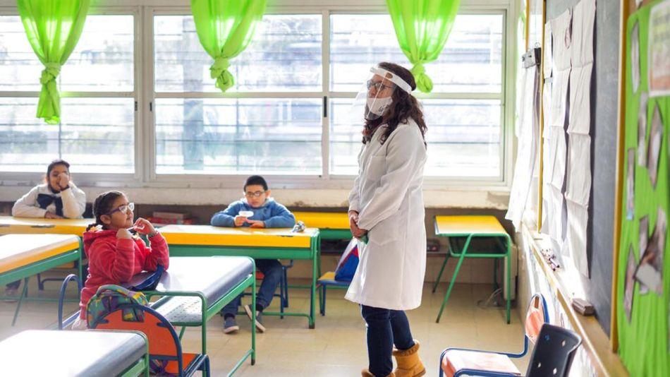vuelta a clases en Uruguay 20200616