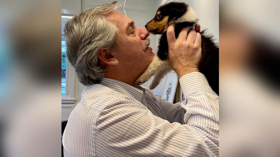Alberto Fernandez nuevo cachorro 20200616