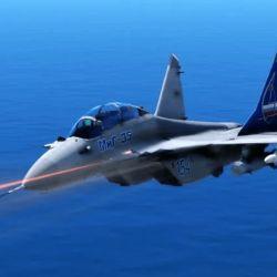 El MiG-35 es un caza de la generación 4++, que se destaca por su alta capacidad de maniobra.