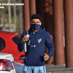 El mate, algo infaltable en Uruguay y en los entrenamientos de Cerro.