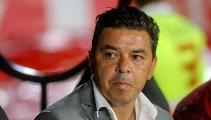 Marcelo Gallardo rompió el silencio y cuestionó las medidas aislamiento en el fútbol. // NA