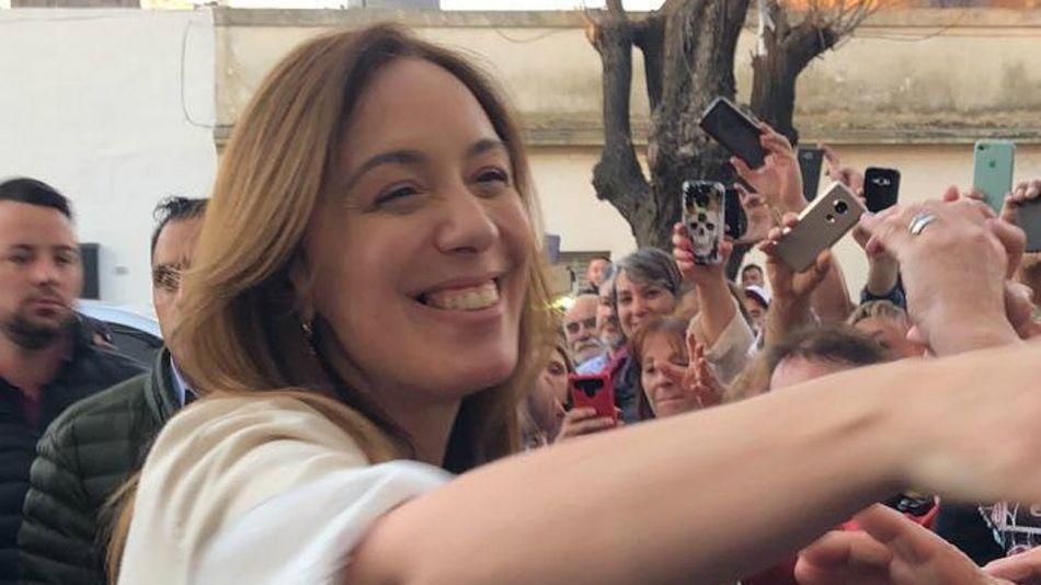 La exgobernadora de la provincia de Buenos Aires,María Eugenia Vidal