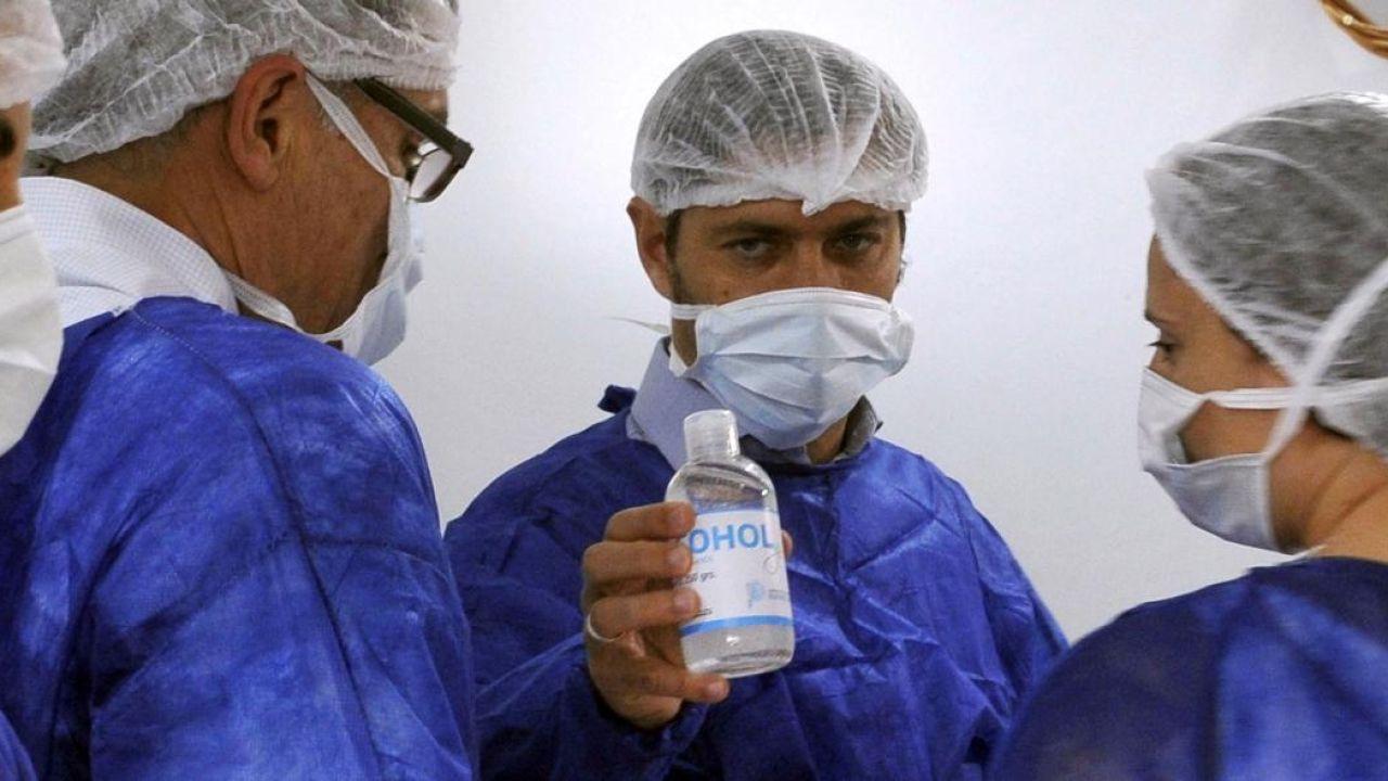 Kicillof y su equipo de Salud impulsan una cuarentena más dura. | Foto:CEDOC