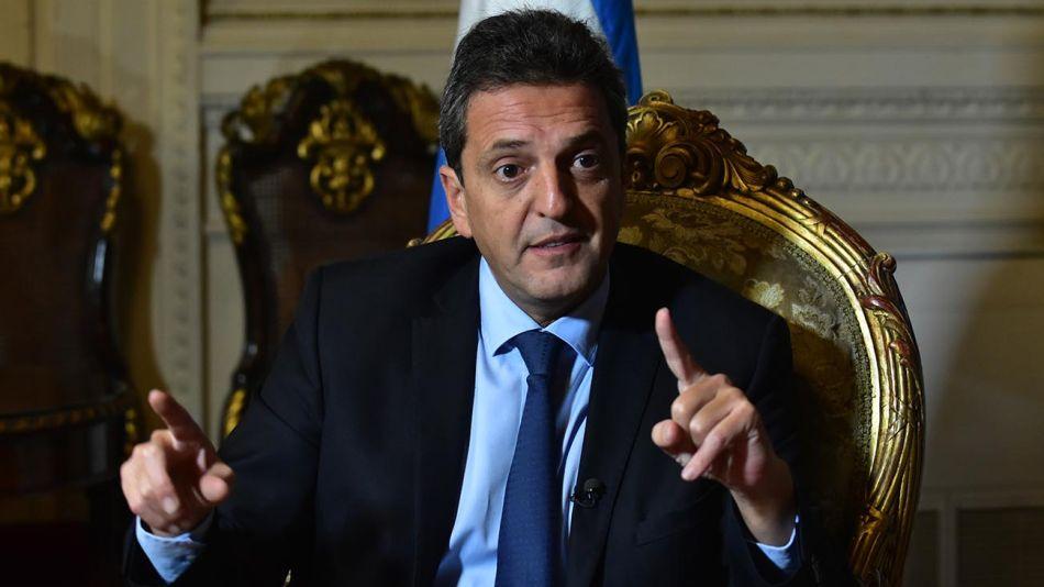 Sergio Massa, titular de la Cámara de Diputados.