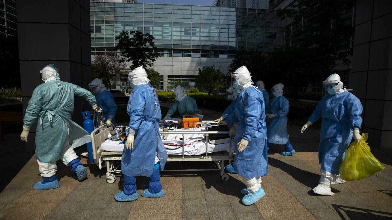 """BEIJING. La epidemia en la capital está """"controlada"""", aseguró el virólogo jefe del Centro de Control y Prevención de Enfermedades (CDC), Wu Zunyou."""