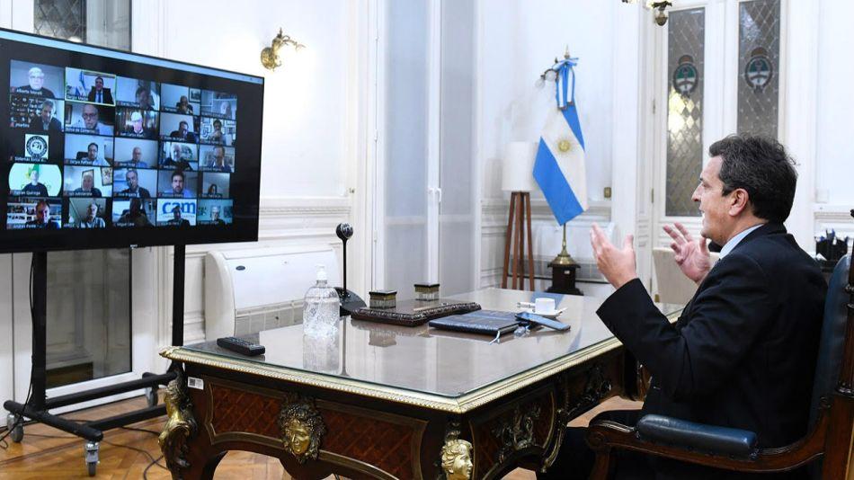 Massa cumple nutrida agenda desde el Congreso, pero todavía no se expresó sobre Vicentin.