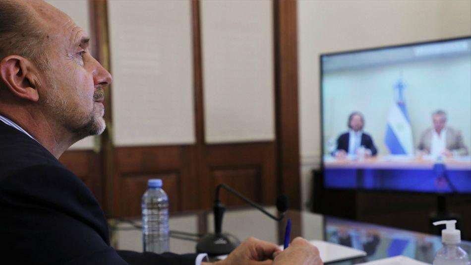 """Perotti presentó una propuesta """"superadora"""" para destrabar el conflicto."""