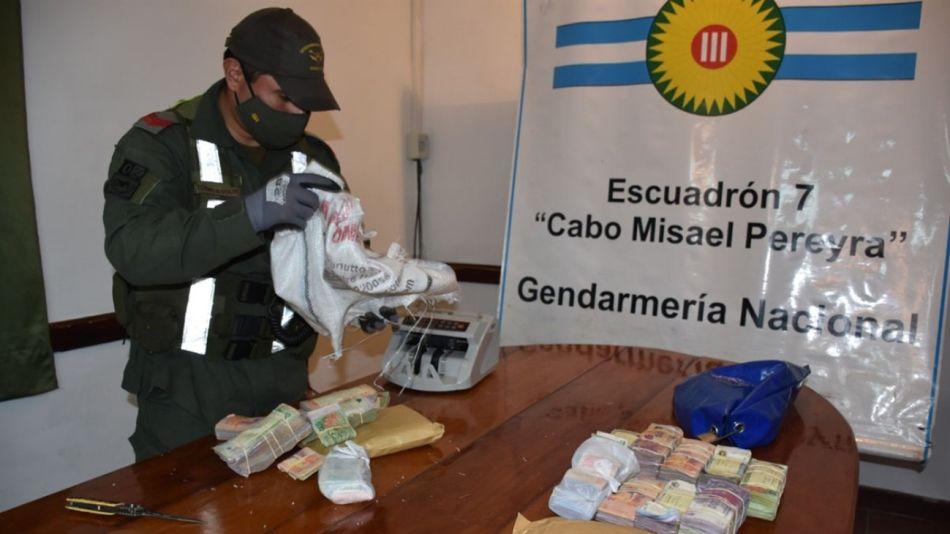 gendarmeria secuestro millones camiones norte g_20200620