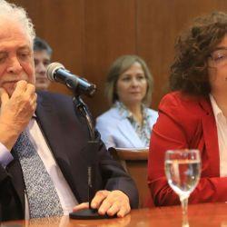 Ginez González García y Carla Vizzotti | Foto:cedoc