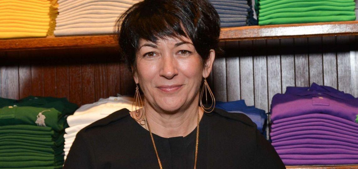 Apareció en París Ghislaine Maxwell, la mujer de Epstein