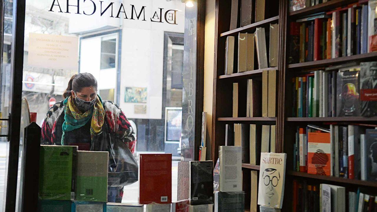 Librerías en pandemia. | Foto:Sergio Piemonte