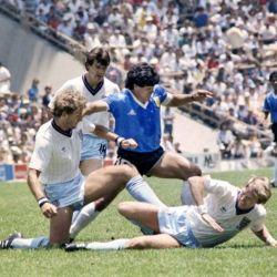 Diego Maradona, gran figura del Mundial '86 y leyenda para toda la vida. //AFP