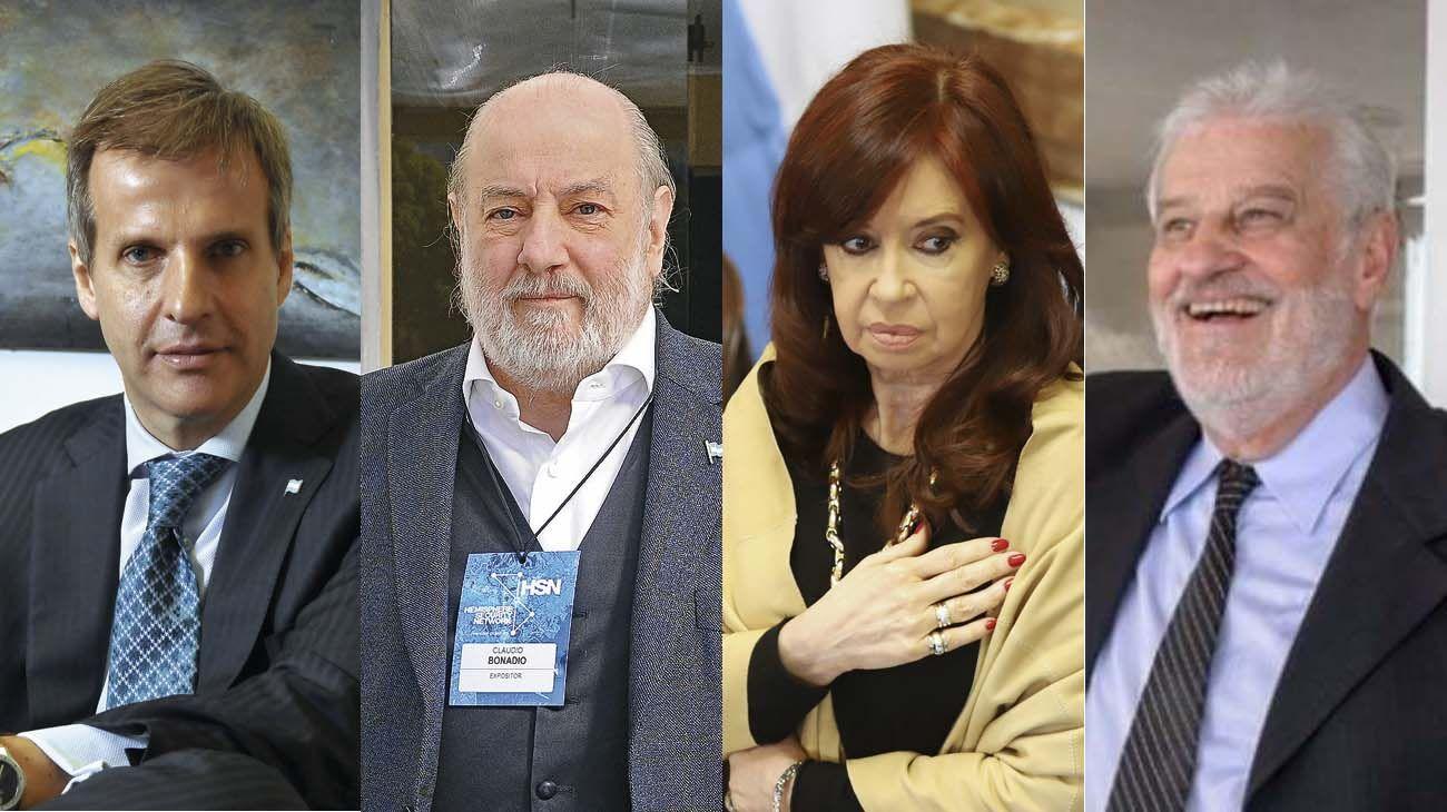 Martin Redrado, Bonadio, Cristina Kirchner y Hector Vicentin