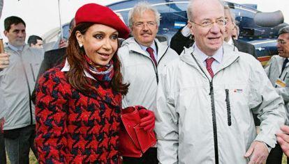 Cristina Kirchner y Paolo Rocca