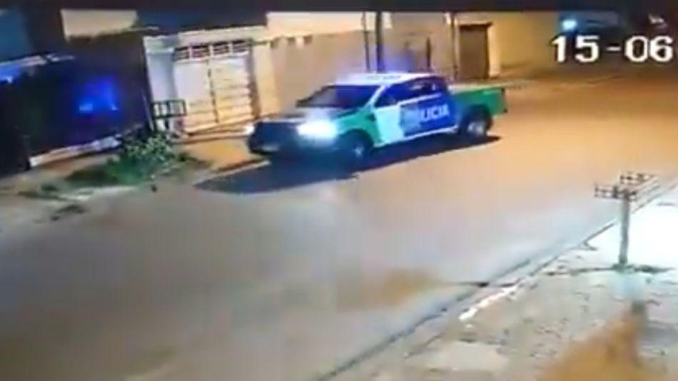 policia bonaerense patrullero globo g_20200623