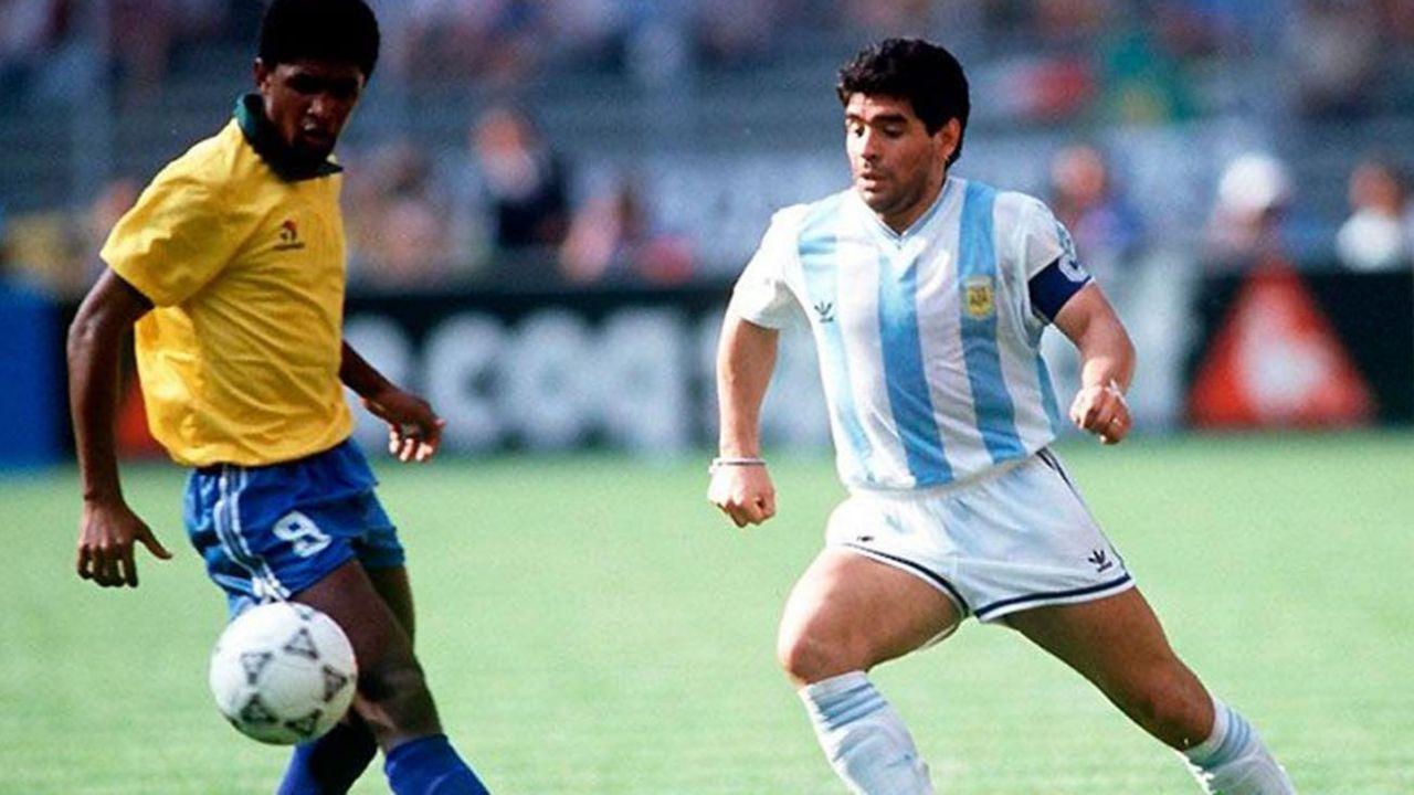 ARGENTINA-BRASIL, MUNDIAL 90.