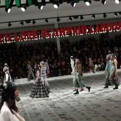 Cómo será el desfile de Dior sin público