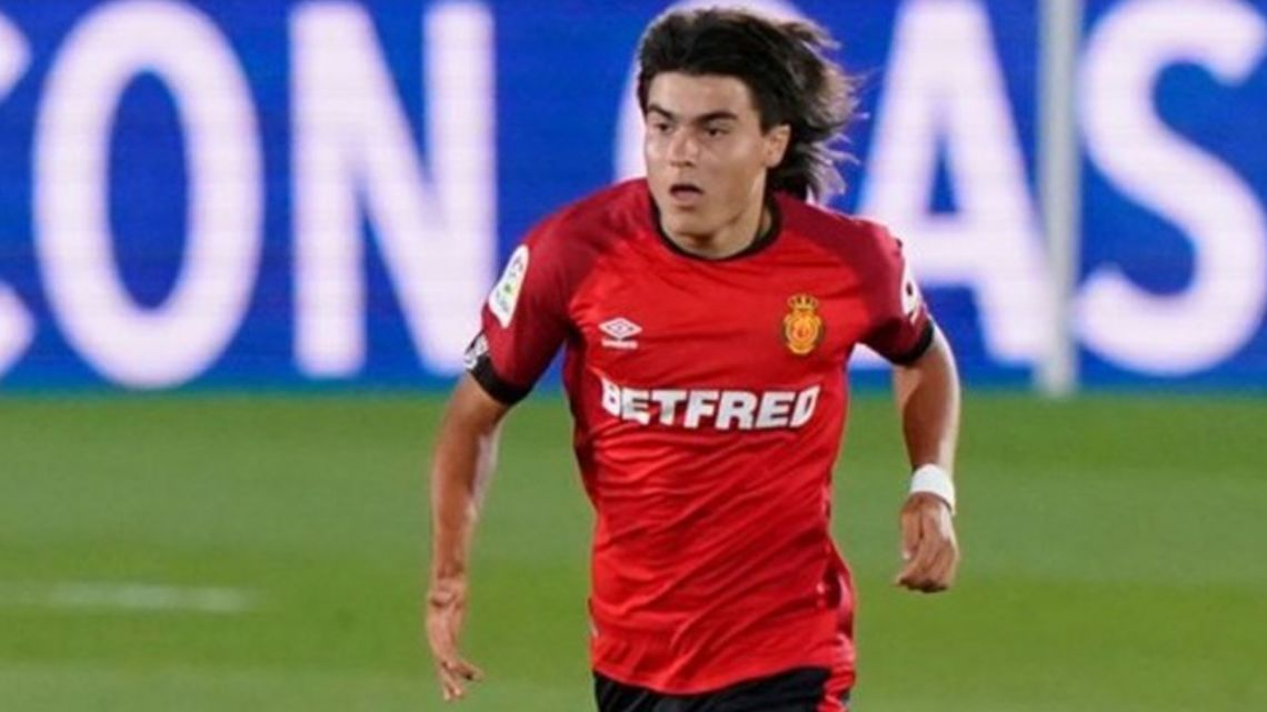 Luka Romero makes his debut for Real Mallorca.